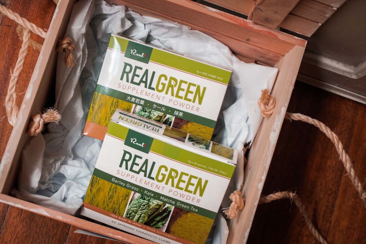 A Healthy Lifestyle with Real Green (Now in the PH!)